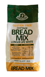 gluten free bread mix bag