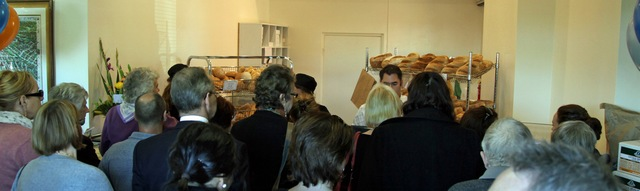new freedom gluten free bakery shop crowd