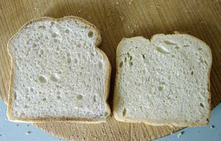 compare breads small