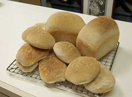 gluten free turkish rolls buns loaves